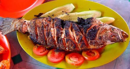 Рыба запеченная в фольге рецепт с фото